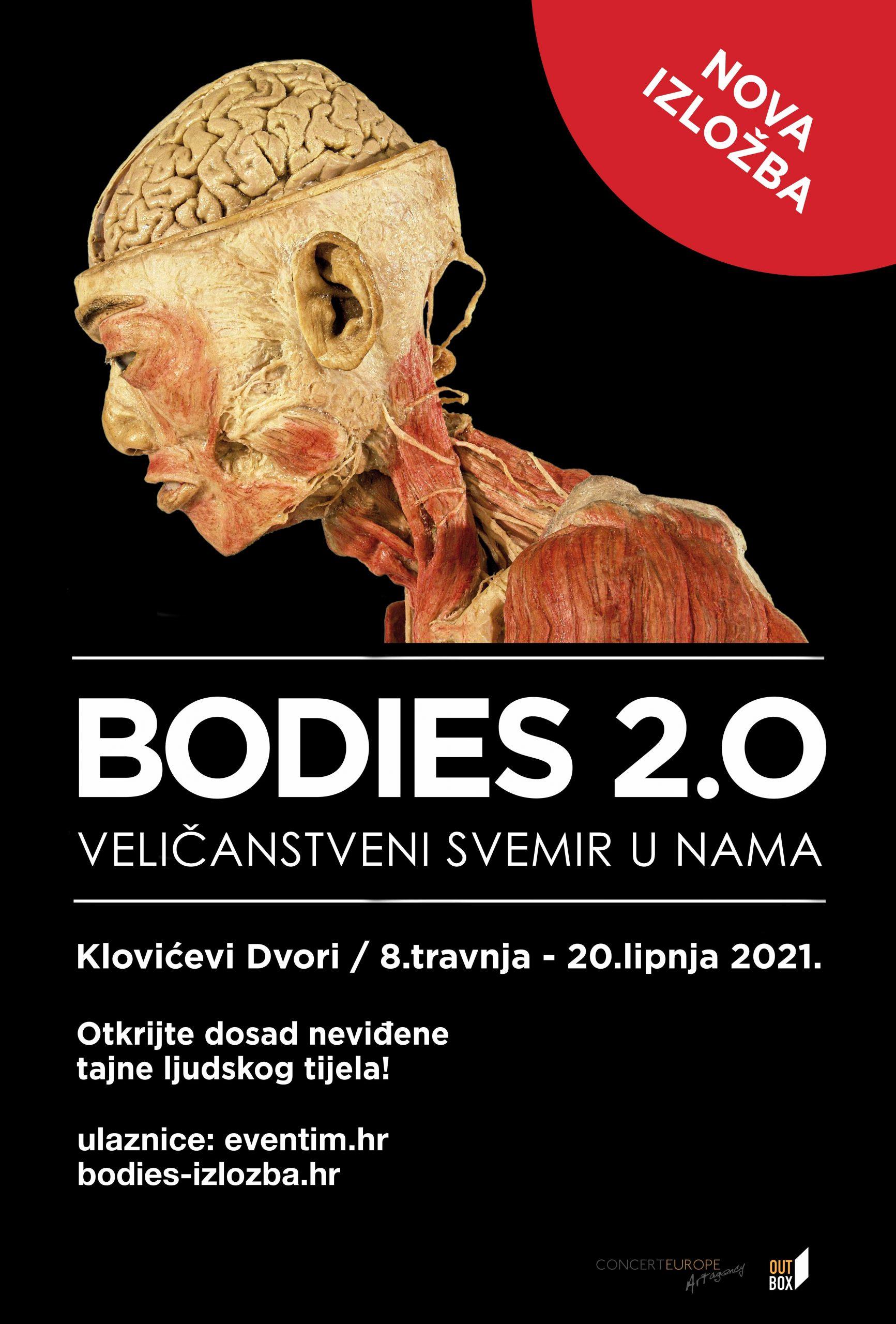 Bodies 2.0 izložba u klovićevom dvorima